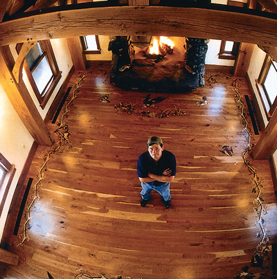 Lovely Hunters Often Display The Fruits Of Their Efforts And Their Prized  Possessions On The Wall. John Yarema, Owner Of Johnson Hardwood Floors In  Ray Mich., ...
