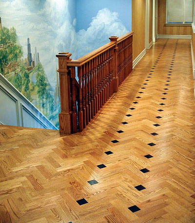 Show stoppers 2004 nwfa wood floor of the year winners for Catwalk flooring