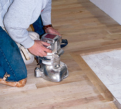 Step By Step How To Set Up Your Wood Flooring Edger