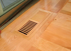 Step by step how to install wood floor vents wood floor for 6x12 wood floor register