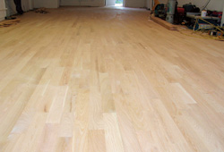 Step by step fixing an uneven wood subfloor before wood for Hardwood floors uneven