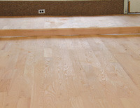 Step By Step Fixing An Uneven Wood Subfloor Before Wood