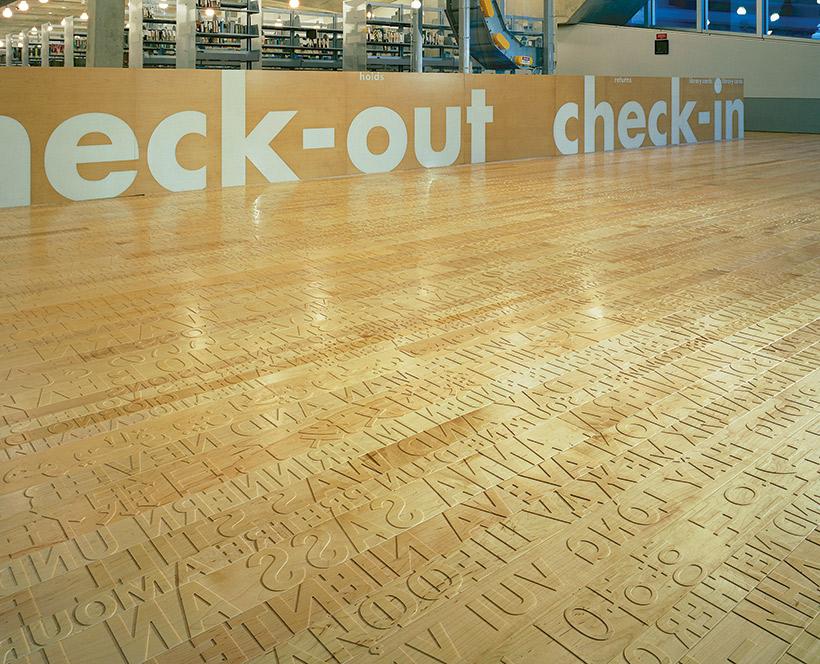 Wood Floors Provide Art Underfoot In Seattle Wood Floor Business