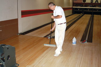 A Look at the Dying Craft of Sanding & Finishing Bowling