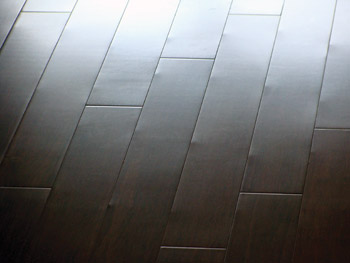 The Case Of The Dimpling Bamboo Flooring Wood Floor