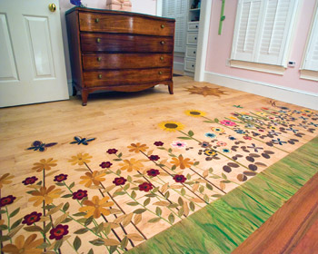 using aniline dyes provides unlimited wood floor colors - wood