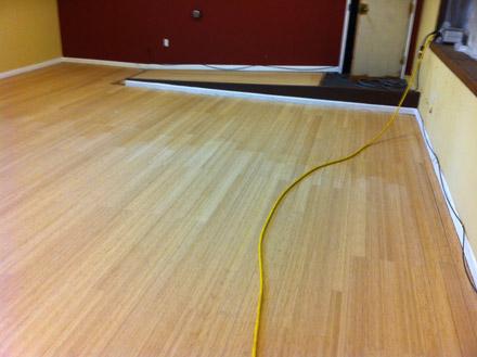 re sanding bamboo floors floor matttroy. Black Bedroom Furniture Sets. Home Design Ideas