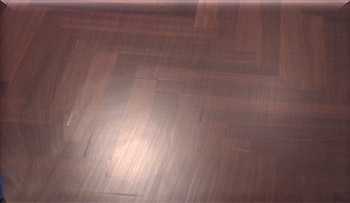 photo of wood floor finish