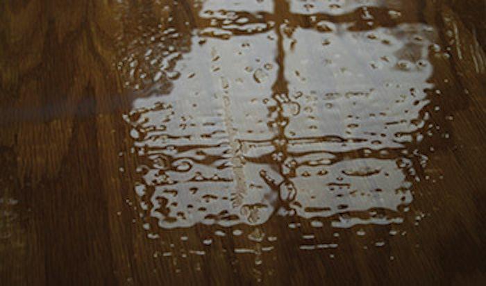 photo of wood floor finish