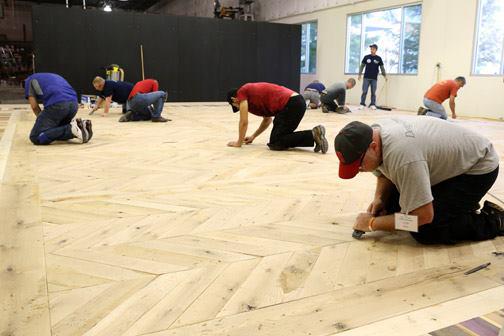 Photos Nwfa Advanced Sand Finish School Wood Floor Business