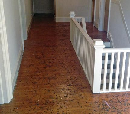 Five Tips When Resanding Super Hard Old Maple Flooring