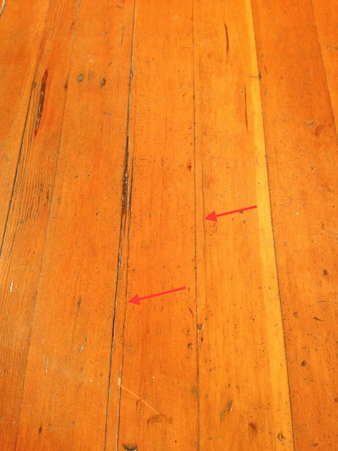 These fine cracks are the precursor to the wood shearing off entirely, like in the photo below.