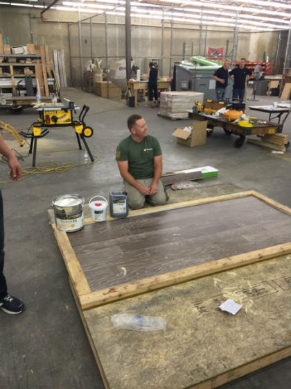 Watson Is First British NWFACPCertified Wood Floor Professional - Chickasaw brand hardwood flooring