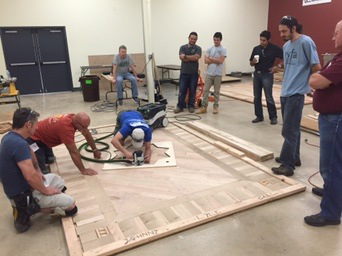 Photos Two NWFA Schools Held At EJ Welch Co Wood Floor - Flooring installation schools