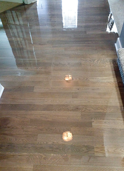 Gray Stain White Oak Amp Water Based Finish Can You Avoid