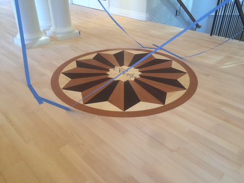 How This Simple Refinish Ended Up With A Custom Medallion Upgrade