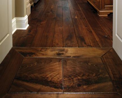 Q a do customers want a shiny finish or depth wood for Hardwood floors not shiny