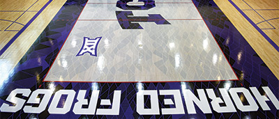 How They Do It Pulling Off Today S Bold Basketball Floors
