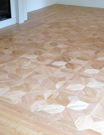 No Garbage On Floor : Waste on a wood flooring job there s no such thing
