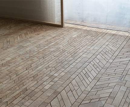 Is There A Way Old World Parquet Flooring Can Be Modernized For Contemporary Design French Designer Raphael Navot Makes Case With His Collection La