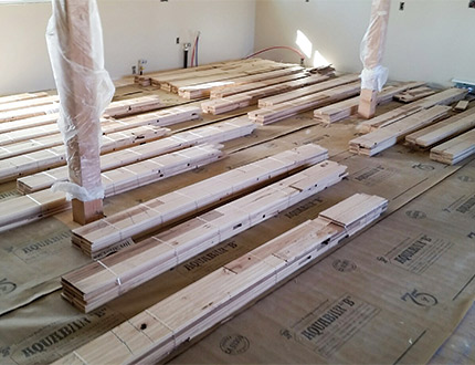 My Steps For Successful Prep Over A Wood Subfloor Wood Floor