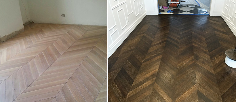 Custom Color From Coast To Coast Wood Floor Business