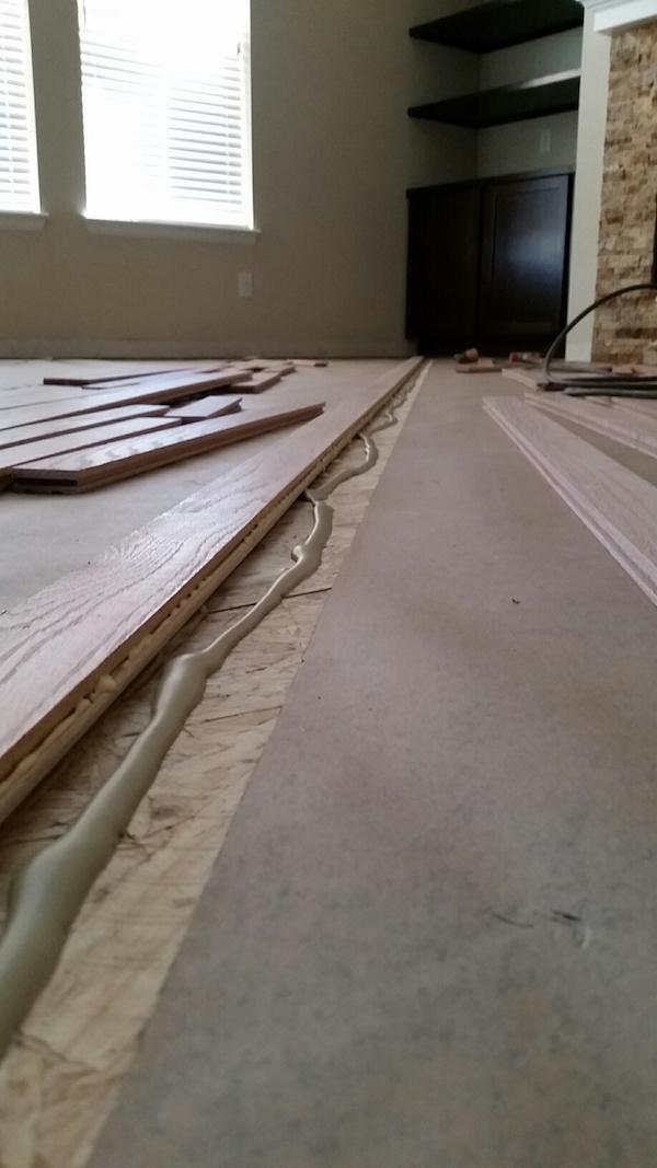 From carpet to diagonal hardwood flooring part 4 wood for Hardwood floor contractors