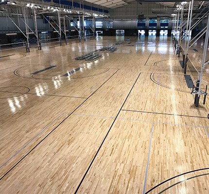 The Largest Portable Court In The World Wood Floor Business Magazine