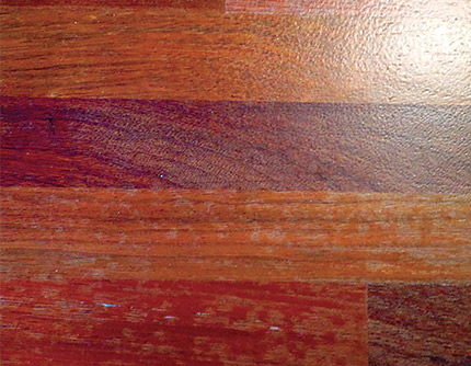 What Caused This Blotchy Brazilian Cherry Wood Floor Business