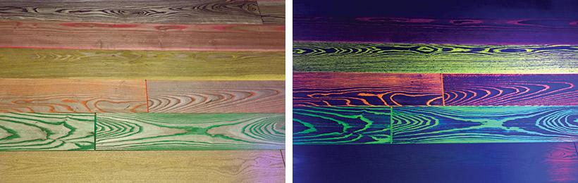 Glow The Dark Floors Mix Fun Finish Wood Floor Business Magazine