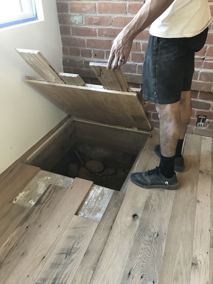 Wood Floor Of The Week A Hidden Door Installed In Plain Sight