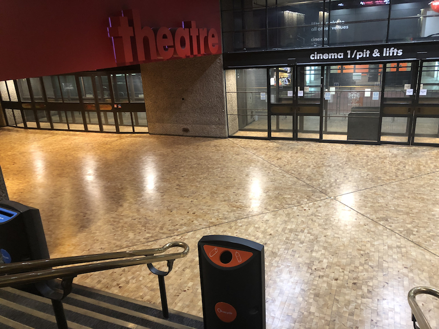 Refinishing The Iconic Barbican Centre In London Wood Floor
