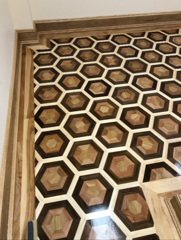 Wood Floor Of The Week Honeycomb Parquet Makes A Buzz