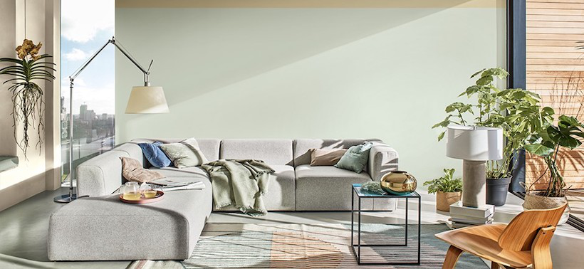 The 2020 Color of the Year is a fluid shade somewhere in between green, blue and gray, according to AkzoNobel.