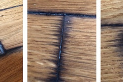 10 21 20 Black Stained Floor