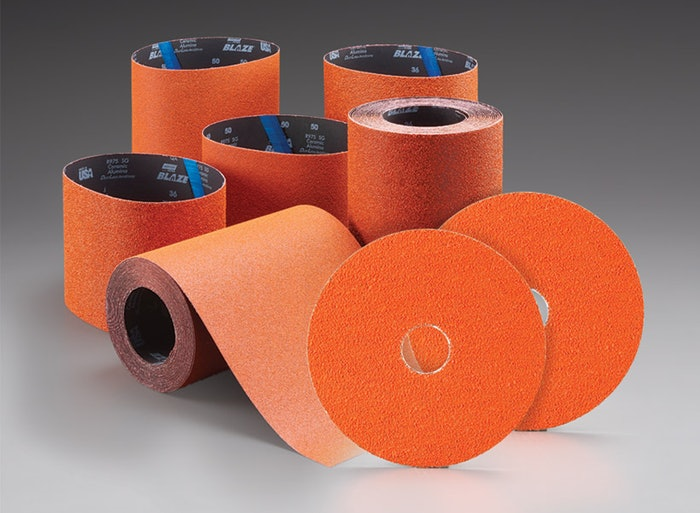 Norton Abrasives BlazeX and Blaze Plus allow you to eliminate extra steps and save time.