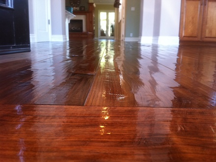 Hand Scraped Floors Part 2 How I Finish Them Wood
