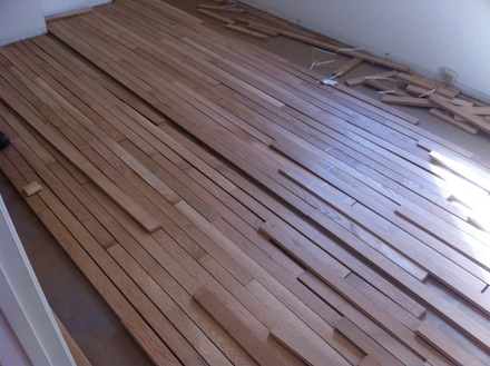Installing A Simple Wood Floor What You Think You Already Know