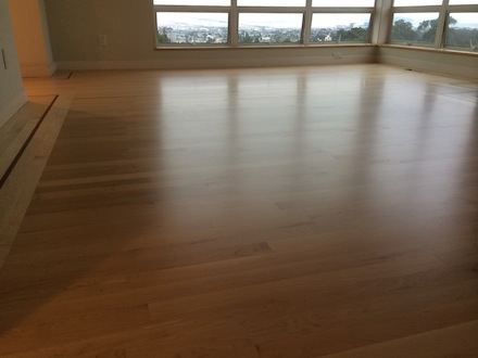 So You Think You Can Sand How About Maple Wood Floor Business