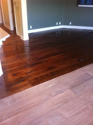 Hand Scraped Floors Part 2 How I Finish Them Wood Floor Business