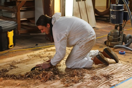 Nwfa teaches expert sand finish school in richmond va for Hardwood floors lake zurich